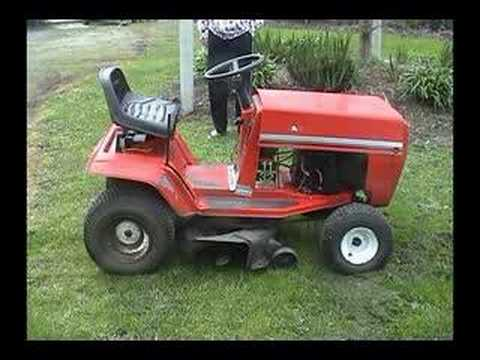 manual for task force riding mower parts
