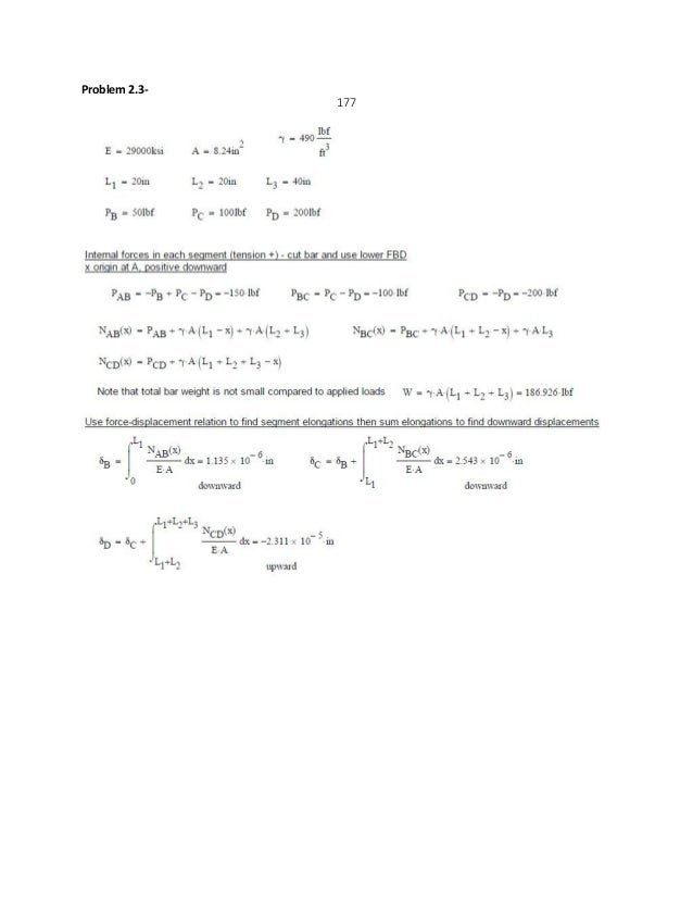mechanics of materials 9th edition gere goodno solution manual