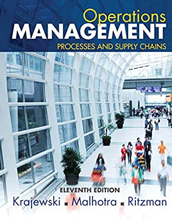 operations management pearson 10th edition solution manual