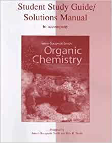 organic chemistry student study guide and solutions manual pdf