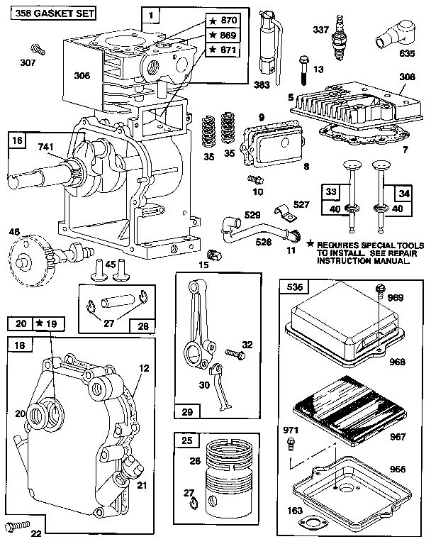 parts manual for briggs and stratton 91202