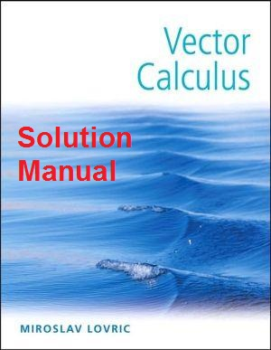 vector calculus susan jane colley solutions manual pdf