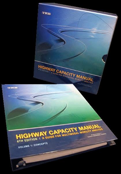 volumes part of the high way capacity manual